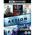 Uhd film The Action Collection (4K UHD+BD+UV) (The Huntsman Winters War / Warcraft The Beginning / Lucy / Everest / Battleship ) [Blu-ray] [2017]